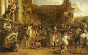 Sir David Wilkie the entrance of george iv at holyrood house china oil painting reproduction