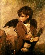 Sir Joshua Reynolds cupid as link boy china oil painting reproduction