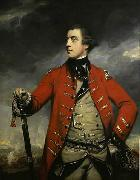 Sir Joshua Reynolds Oil on canvas portrait of British General John Burgoyne. china oil painting reproduction