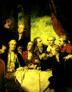 Sir Joshua Reynolds members of the society of dilettanti china oil painting reproduction