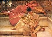 Sir Lawrence Alma-Tadema,OM.RA,RWS Favourite Poete china oil painting reproduction