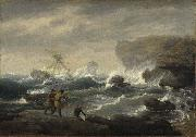 Thomas Birch Shipwreck china oil painting reproduction