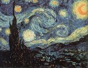 Vincent Van Gogh nuit etoilee china oil painting reproduction
