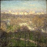 Willard Leroy Metcalf Early Spring Afternoon--Central Park china oil painting reproduction