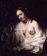 Willem Drost Batsheba met de brief van koning David china oil painting reproduction