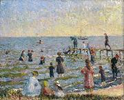 William Glackens Bathing at Bellport Long Island china oil painting reproduction