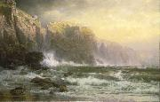 William Trost Richards The League Long Breakers Thundering on the Reef china oil painting reproduction