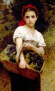 Adolphe William Bouguereau The Grape Picker china oil painting reproduction