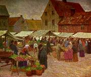 anders trulson martenstorget med schlyterska china oil painting reproduction