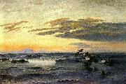 bruno liljefors Eiders at Sunrise china oil painting reproduction