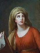 elisabeth vigee-lebrun Lady Hamilton as the Persian Sibyl china oil painting reproduction
