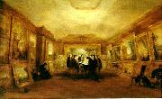 george jones turner,s coffin in his gallery at queen anne street china oil painting reproduction