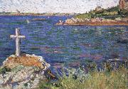 impressionist painter the mariners cross at high tide oil painting picture wholesale