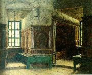johan krouthen interior fran gripsholms slott china oil painting reproduction