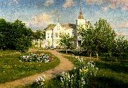 johan krouthen berga slott china oil painting reproduction