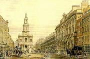 thomas malton the strand with somerset house china oil painting reproduction