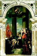 Titian pesaro altar china oil painting reproduction
