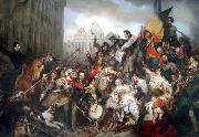 unknow artist Wappers belgian revolution china oil painting reproduction