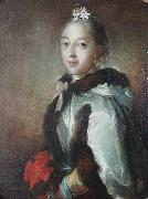 unknow artist Sophie Hedvig Raben, gift med gred Adam Moltke china oil painting reproduction