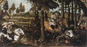 unknow artist The Boar Hunt china oil painting reproduction