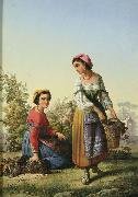 unknow artist Italian Vintage china oil painting reproduction