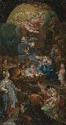 unknow artist Adoration of the Shepherds china oil painting reproduction