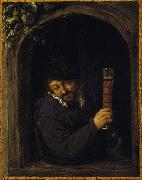 Adriaen van ostade Peasant at a Window china oil painting reproduction