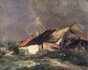 Antoine Vollon After the Storm oil