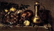 Antonio Ponce Still-Life in the Kitchen oil