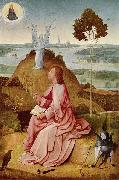 BOSCH, Hieronymus Saint John the Evangelist on Patmos china oil painting reproduction