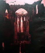 Caspar David Friedrich Ruine Oybin bei Mondschein china oil painting reproduction