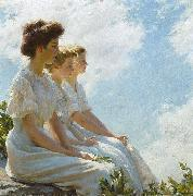 Charles Courtney Curran On the Heights china oil painting reproduction