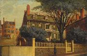 Charles Furneaux The Hancock House, oil painting by Charles Furneaux china oil painting reproduction