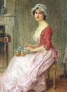 Charles-Amable Lenoir The Seamstress china oil painting reproduction