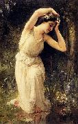Charles-Amable Lenoir A Nymph In The Forest china oil painting reproduction