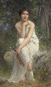 Charles-Amable Lenoir The Flute Player china oil painting reproduction