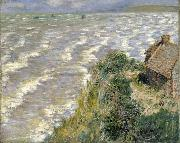 Claude Monet Rising Tide at Pourville china oil painting reproduction