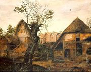 Cornelis van Dalem Landscape with Farm oil painting picture wholesale