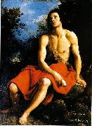 Cristofano Allori John the Baptist in the desert china oil painting reproduction