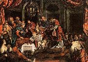 Domenico Tintoretto The Circumcision china oil painting reproduction