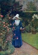 Edmund Blair Leighton The roses' day china oil painting reproduction