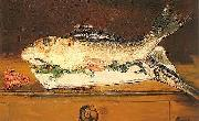 Edouard Manet Still-life, Salmon, Pike and Shrimps oil painting picture wholesale