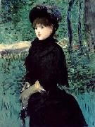 Edouard Manet La Promenade Madame Gamby china oil painting reproduction