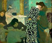 Edouard Vuillard The Flowered Dress oil painting picture wholesale