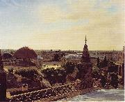 Eduard Gaertner Panorama of Berlin china oil painting reproduction