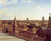 Eduard Gaertner Panorama of Berlin, china oil painting reproduction