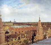 Eduard Gaertner Panorama of Berlin. china oil painting reproduction
