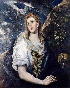 El Greco Mary Magdalen in Penitence china oil painting reproduction