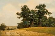 Eugen Ducker Landscape with oaks china oil painting reproduction
