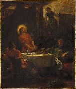 Eugene Delacroix Disciples at Emmaus china oil painting reproduction